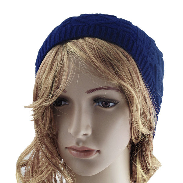 Blue Unisex Slouchy Beanie Hat - Gifts Are Blue - 2
