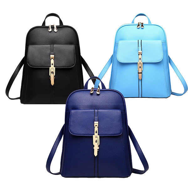 Vintage Style Leather Backpacks