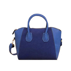 Womens Half Dome Style Blue Handbag - Gifts Are Blue
