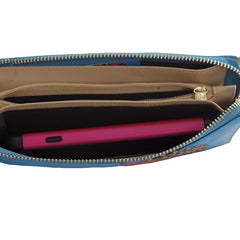 Your Show Time Girls Wristlet - Gifts Are Blue - 4