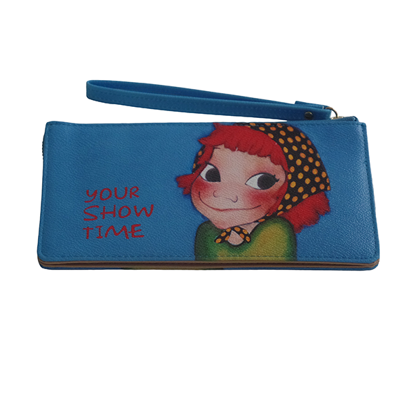 Your Show Time Girls Wristlet - Gifts Are Blue - 1