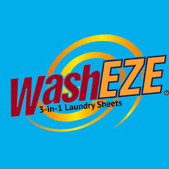 WashEZE 3in1 Laundry Sheets - 160 loads bulk pack case