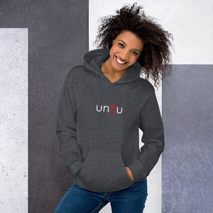 "un2u - ""For unto you is born...""  ""a sign unto you..."" Share the Good News of this personal Gift to all of us. From our un2u collection comes this fun hoodie."