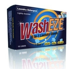 WashEZE 3in1 Laundry Sheets - 20 loads
