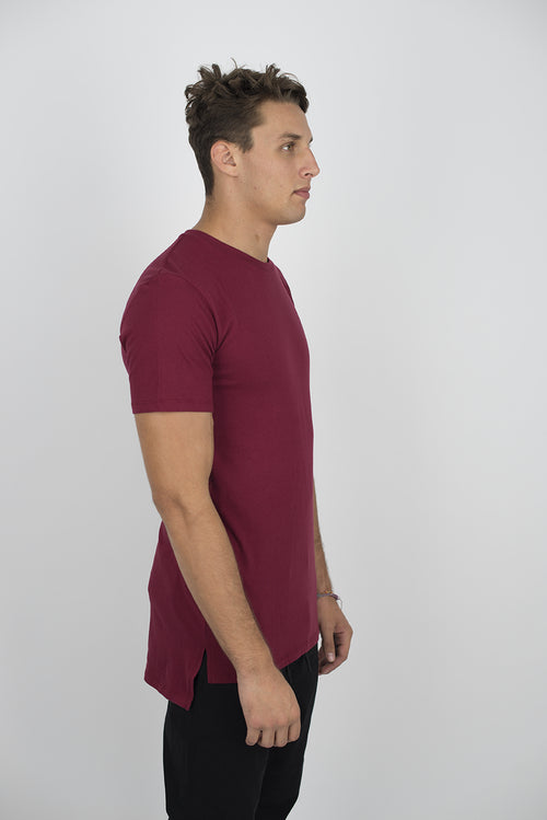 2010 EXTENDED SIDE SLIT TEES