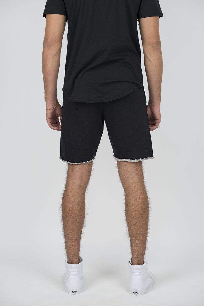8002 RAW EDGE FRENCH TERRY SHORTS