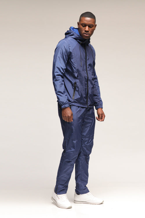 8055 NYLON SWEAT SUIT COMBO