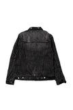 9038 ZIPPER BOMBER JACKET