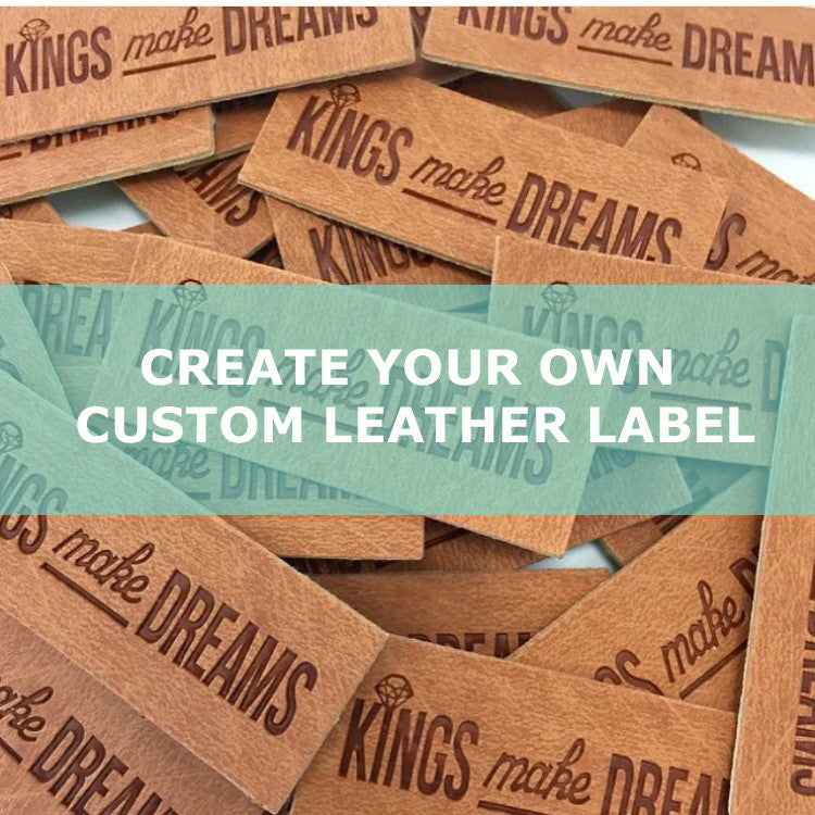 Create Your Own CUSTOM Leather Labels!