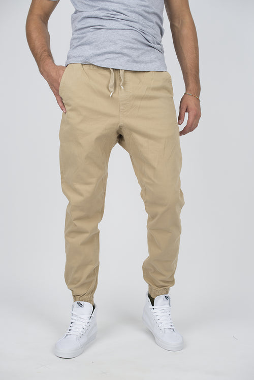Joggers - 7001 COTTON TWILL JOGGERS