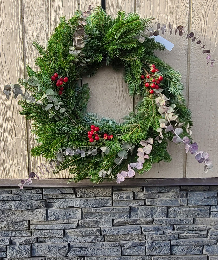 Whimsical Winter - Decorated Wreath