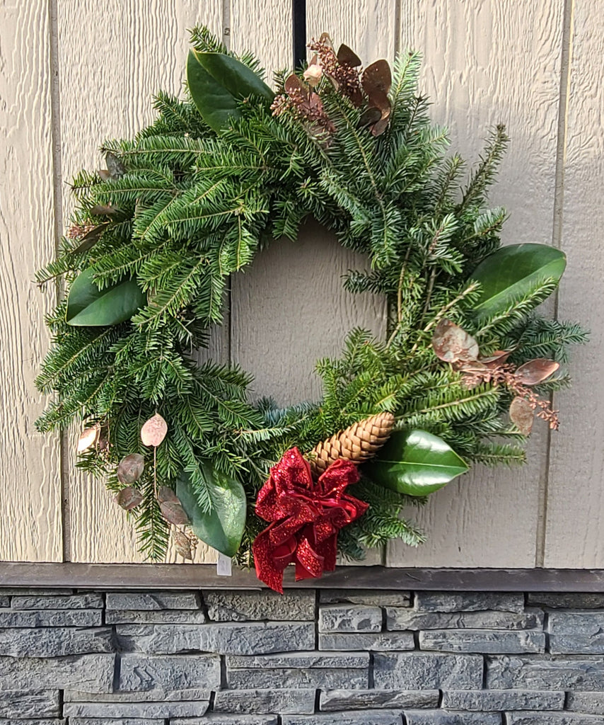 Fir-Evergreen Dream - Decorated Wreath
