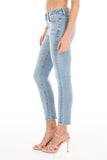 Belvedere Crop Denim - Butterfly Blue