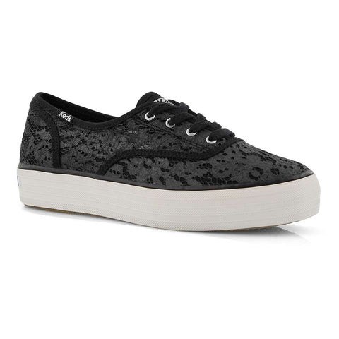 Keds- Triple Paint Crochet Black SOLD OUT