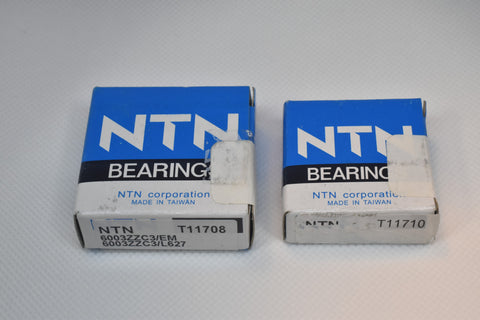 Bearings for Shopsmith Mark V double bearing quills with 2 piece shaft
