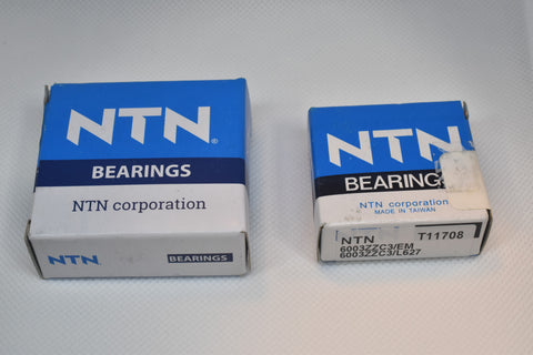 Bearings for Shopsmith Mark V double bearing quills with one piece shaft