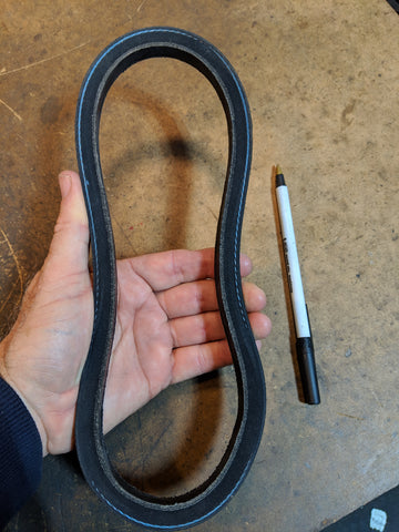 Drive belt (lower belt) for Shopsmith Mark V (1953 to present)