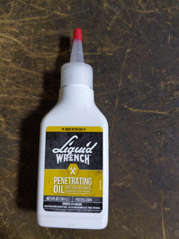 Liquid Wrench penetrating oil 4 oz