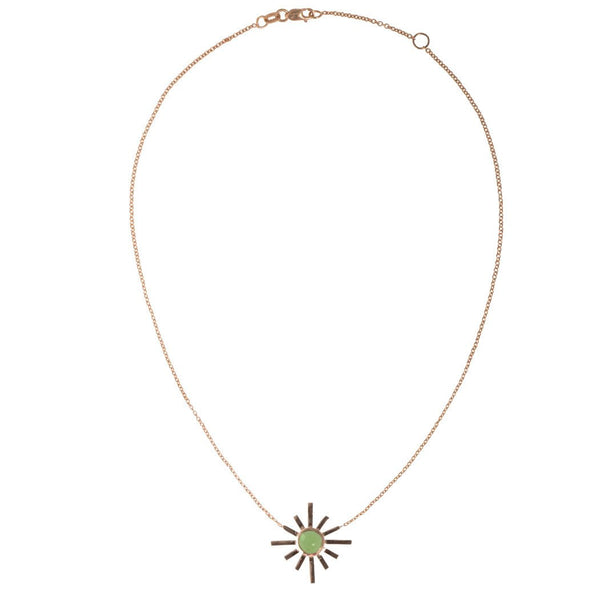 Amaya Jones 14k Sun Choker