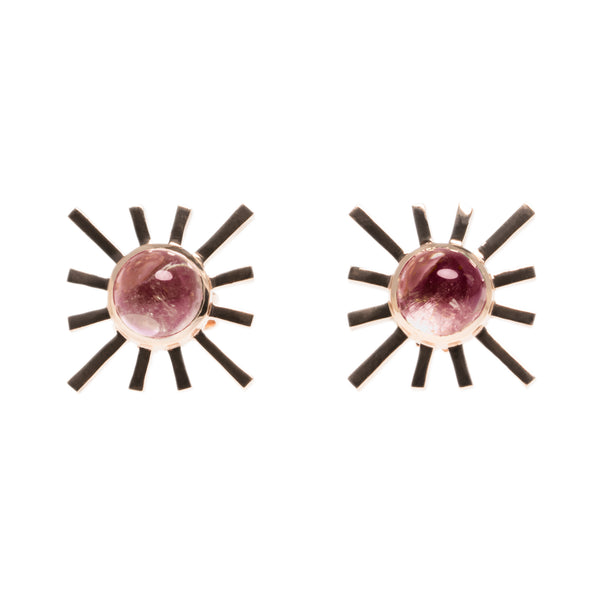 Amaya Jones 14k Single Sun Earring