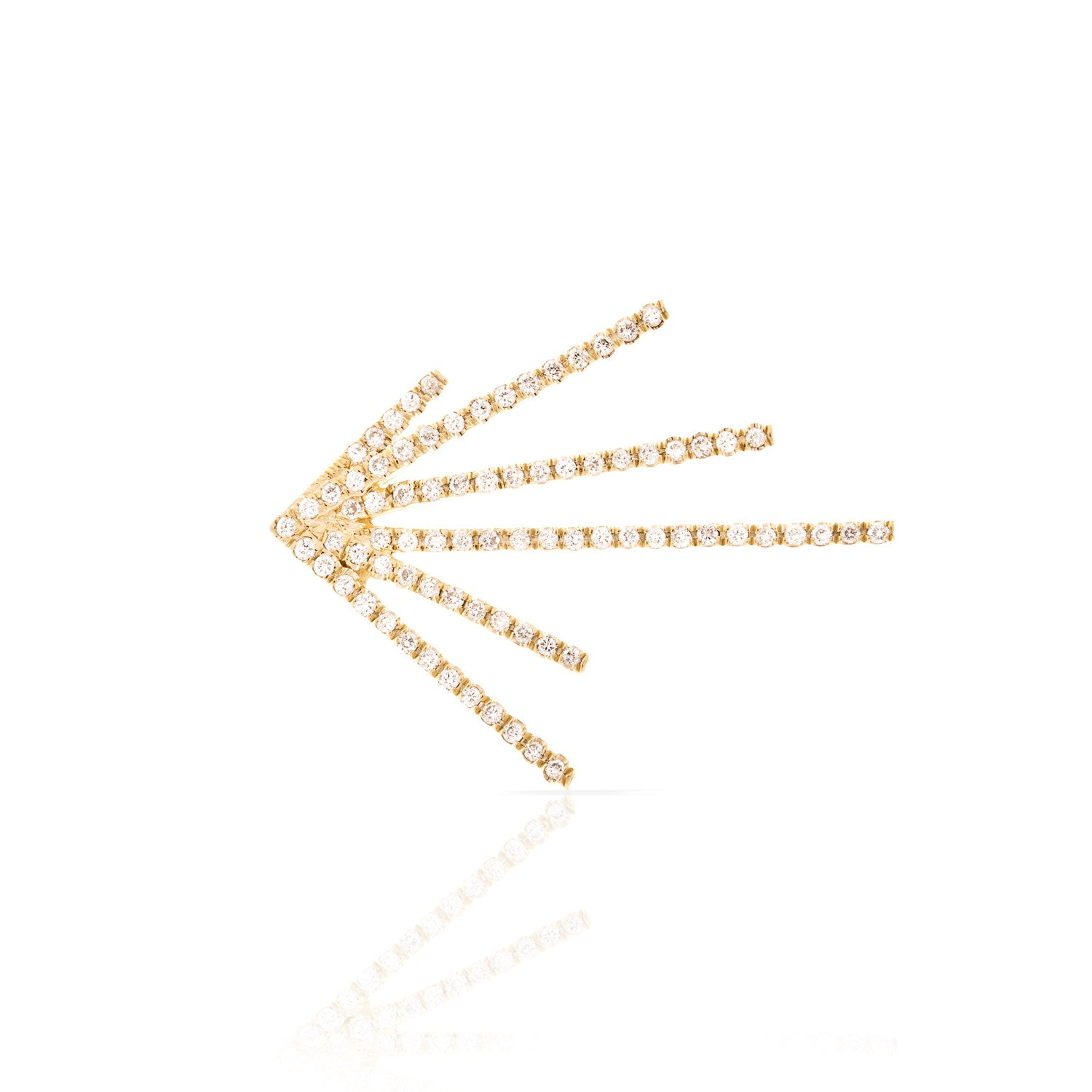 Smith + Mara Pavé Burst Earring