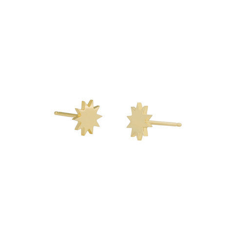 Carmen Diaz Solar Stud Earrings