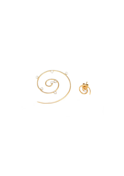 Donna Hourani 18k Dew on Tendril Spiral