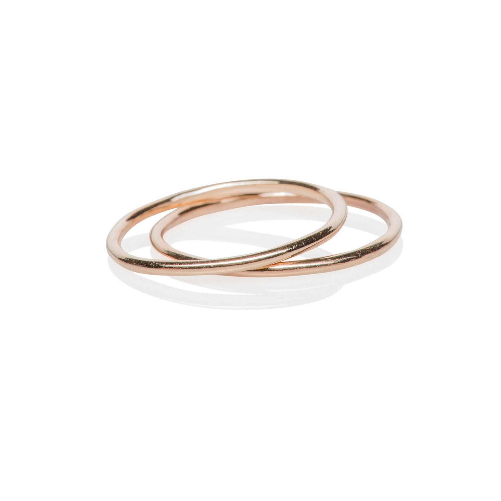 EF Collection 14k Midi Band Ring