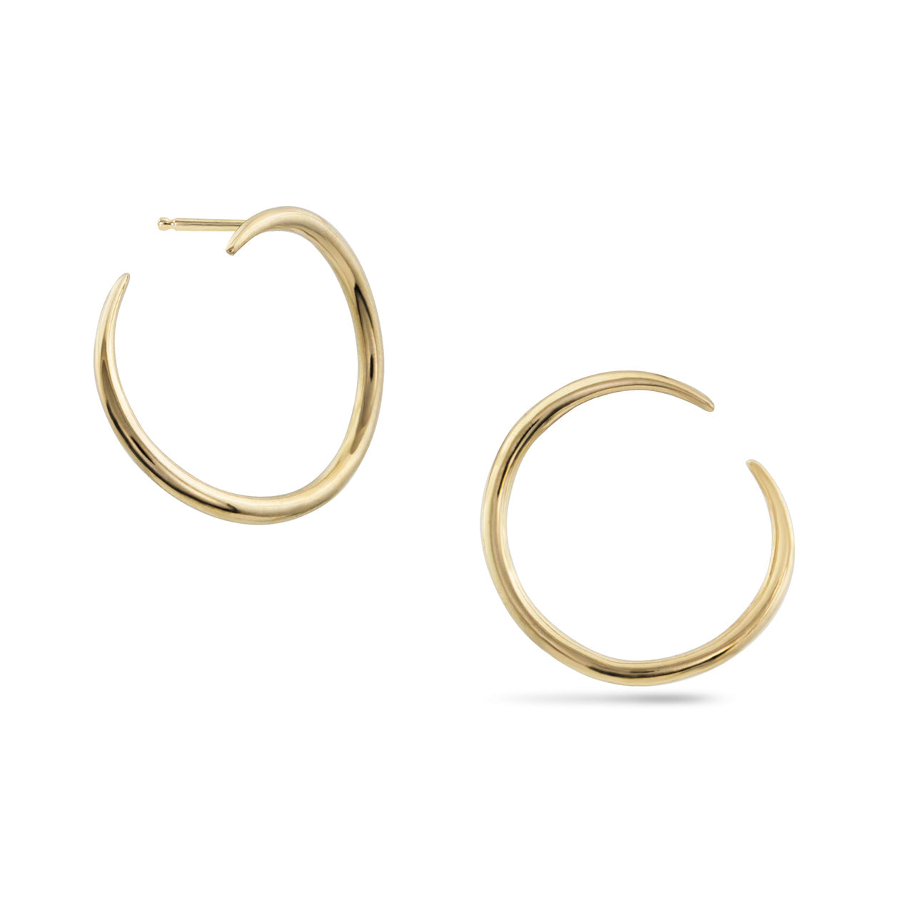 White Space Esme Loop Earrings