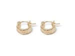 Load image into Gallery viewer, Chubby Huggy Hoops Earring