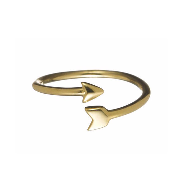 Finn 18k Arrow Ring