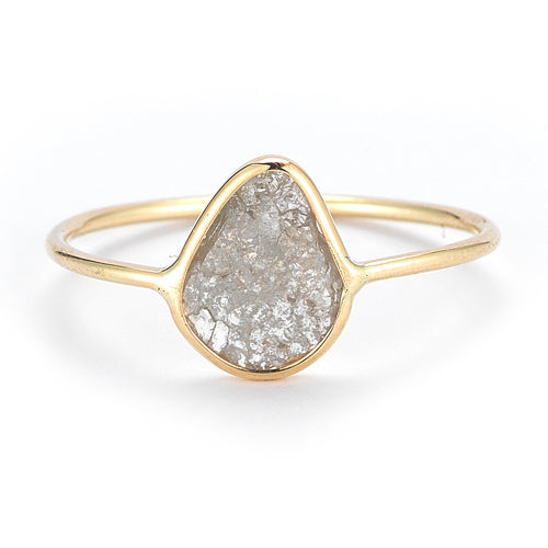 Vale 14k Diamond Slice Ring