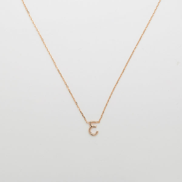 Majorel 18k Letter Necklace