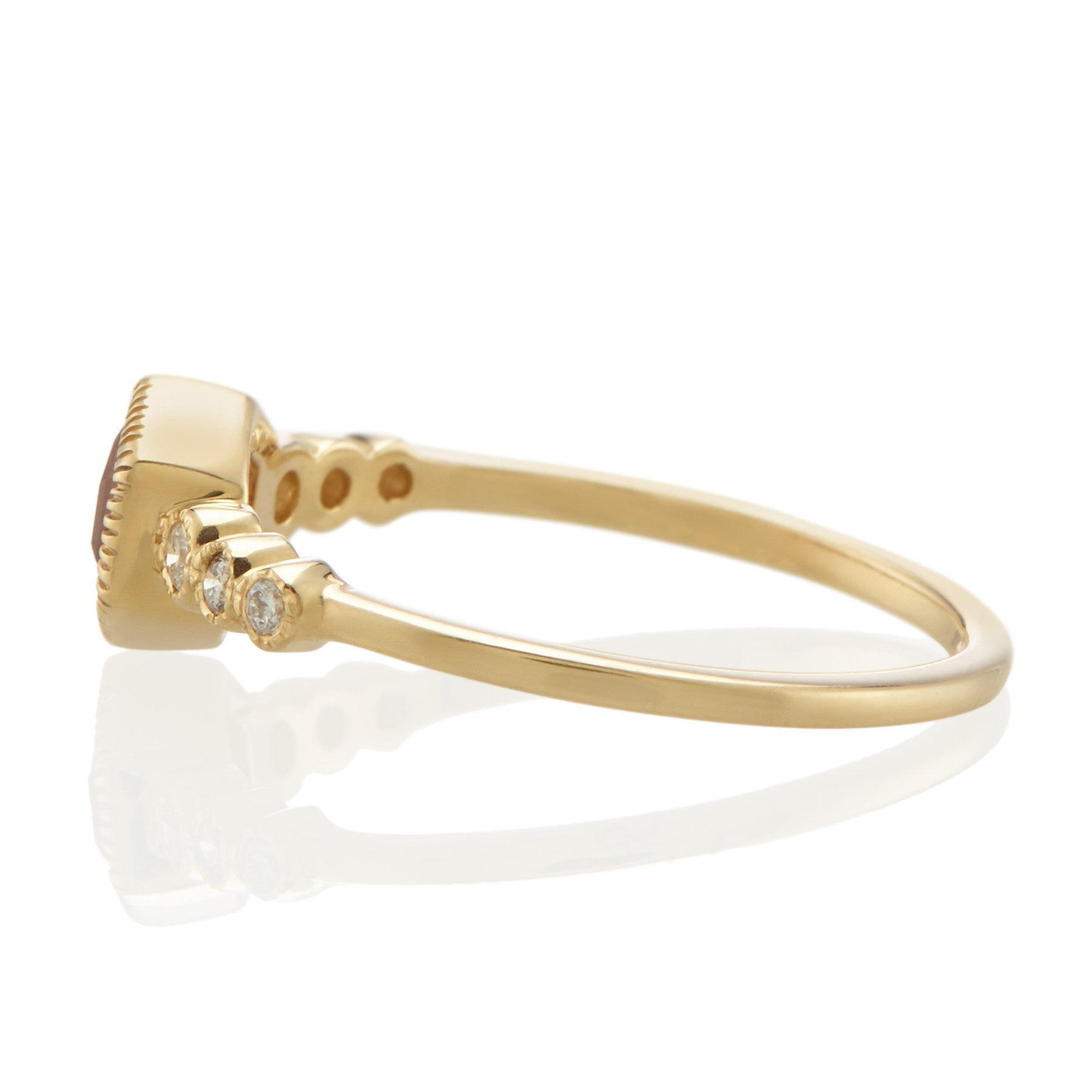 Vale 14k Miel Ring