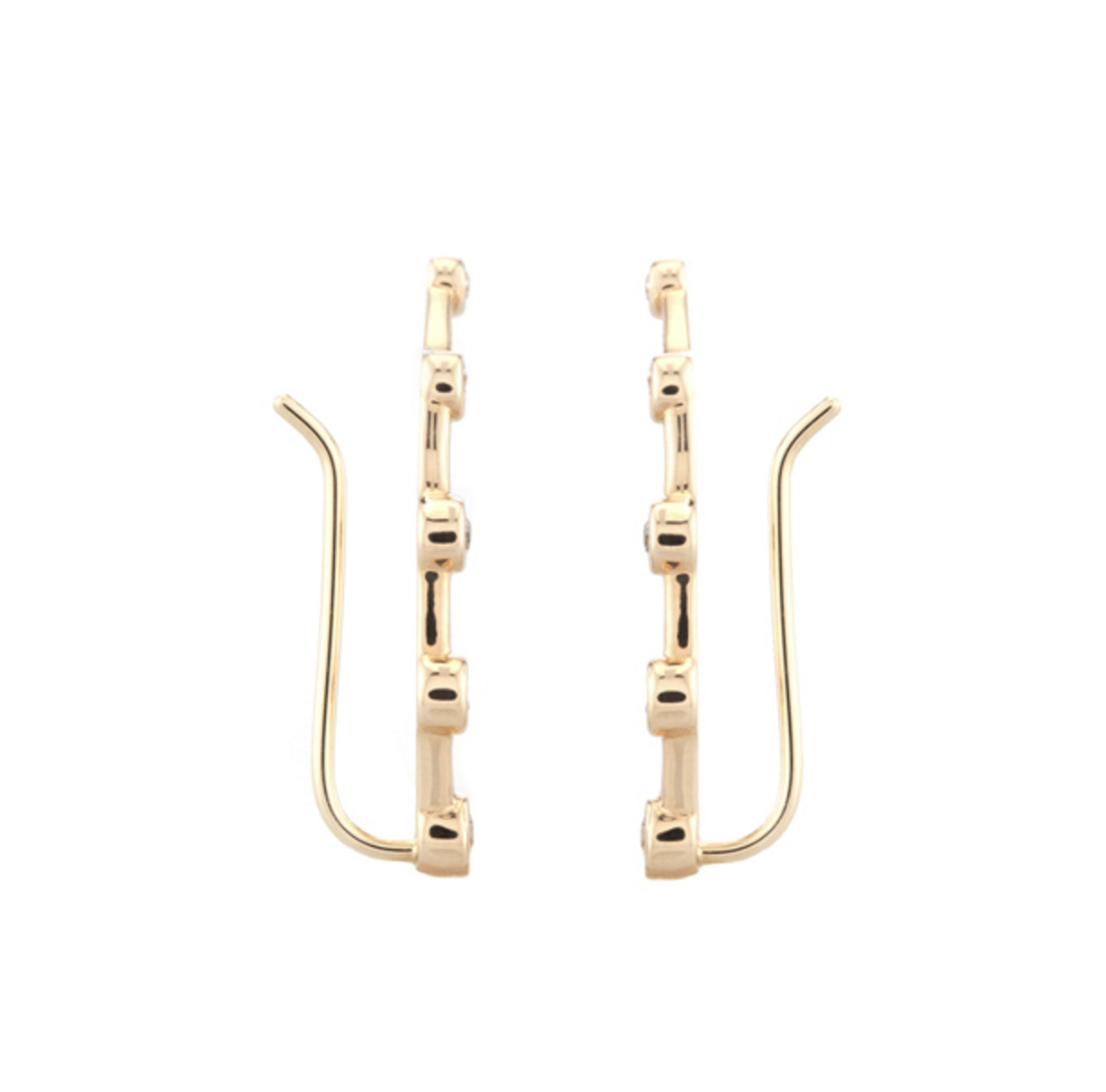 Vale 14k Moonlet Ear Crawlers