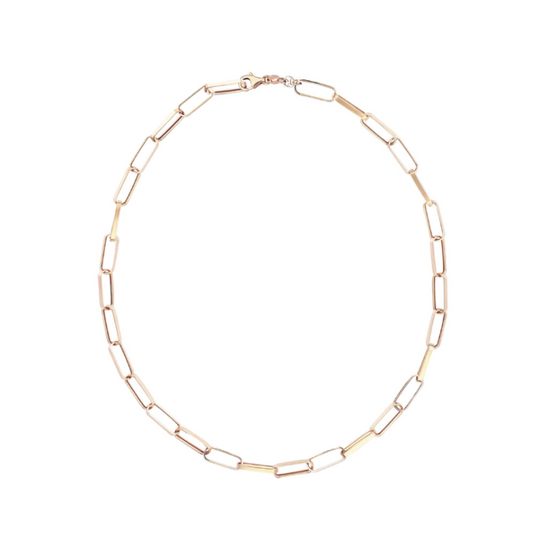 Kismet by Milka 14k Rectangle Chain Necklace