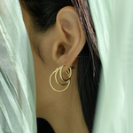Load image into Gallery viewer, Suhaila Hoop Earring