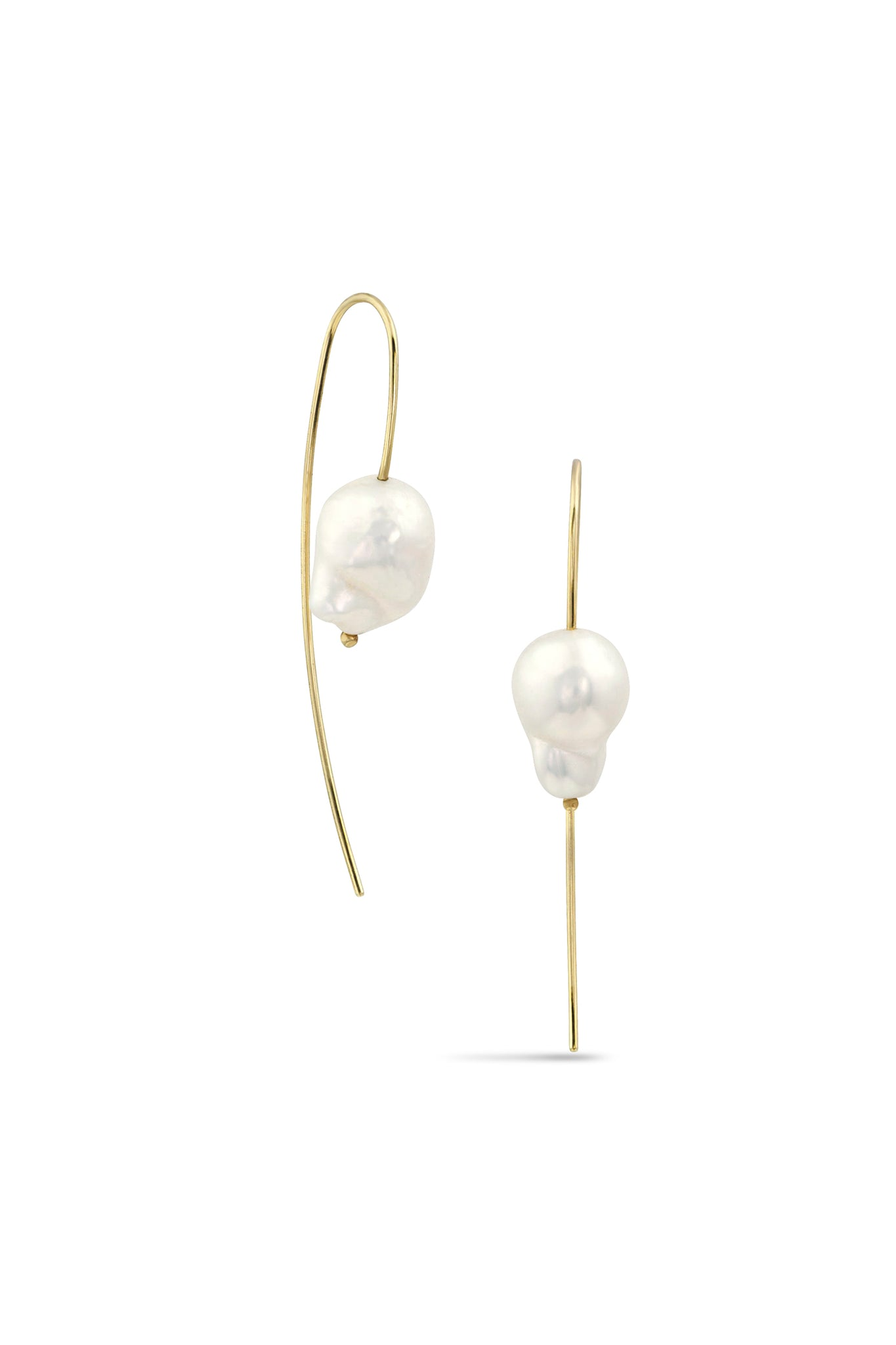 White Space Nova Baroque Earrings