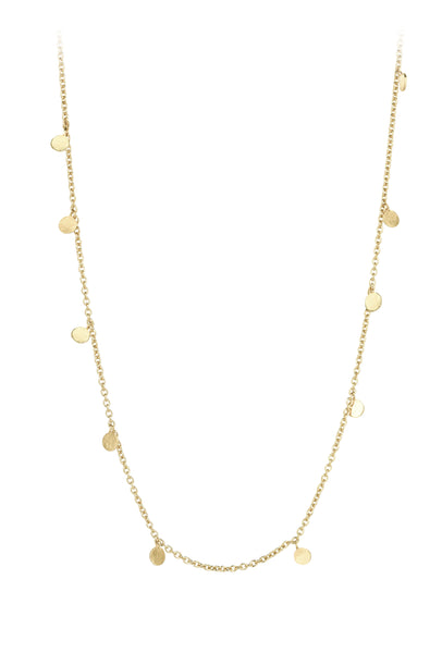 Kismet by Milka 14k Dangle Dots Necklace