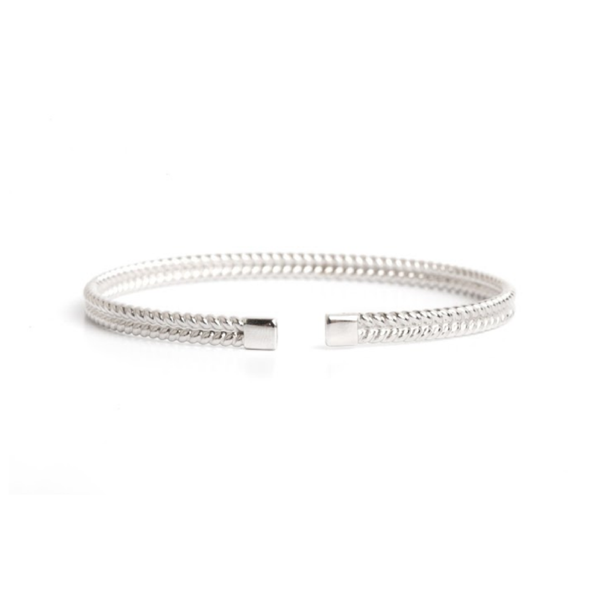Lillian Ismail Men's Silver Cuff