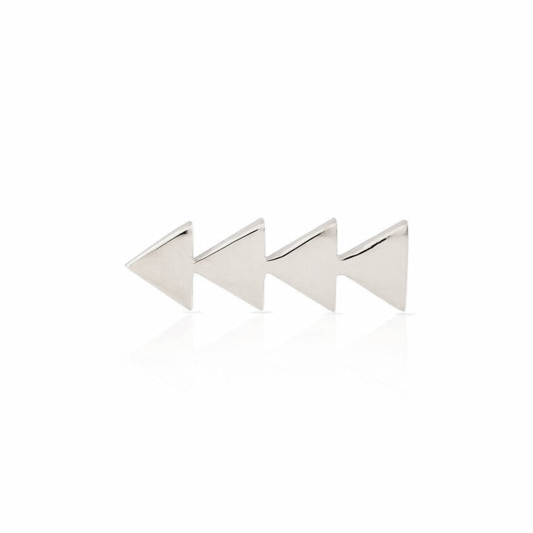 Smith + Mara SS Triangle Ear Climber