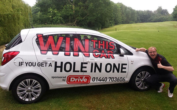 Hole-In-One costs man £3000!!!