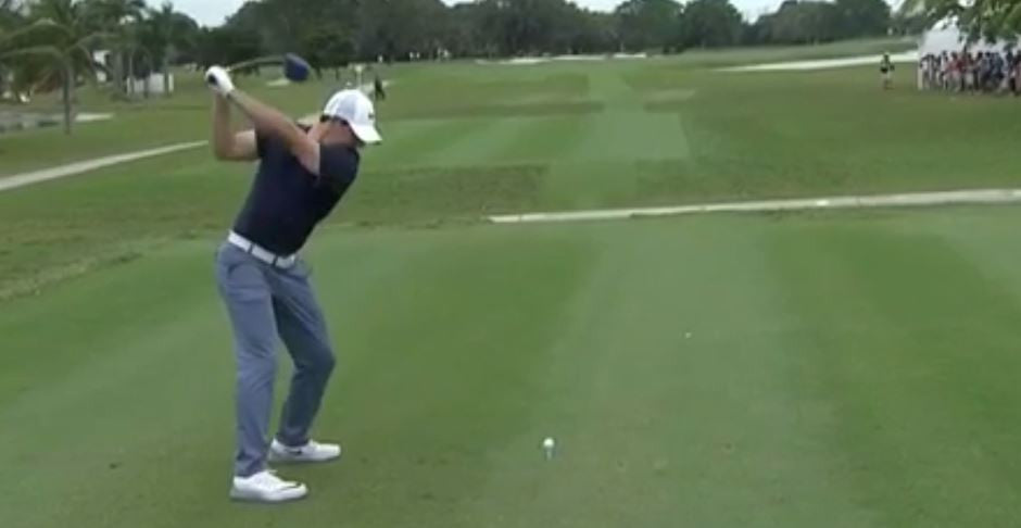 Commentators go nuts over Rory's 342 yard drive