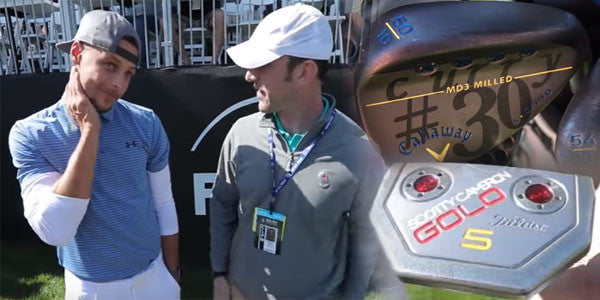 Steph Curry - What's in his golf bag!