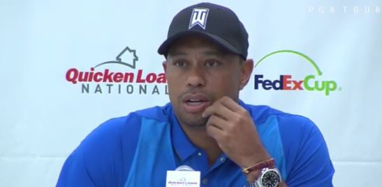 Tiger Woods explains his two most nerve wracking shots!