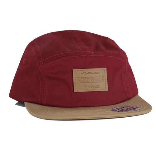 Golf Gods - Fuck 3 Putts Maroon 5 Panel Golf Hat