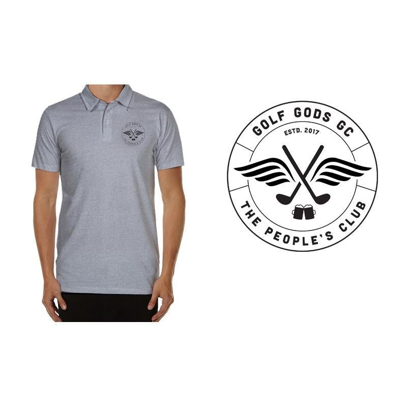 Golf Gods GC - GGGC Official Club Polo in Grey