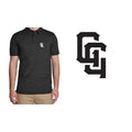 Golf Gods - Performance Polo GG in Black