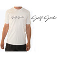 Golf Gods - Script T-Shirt in White