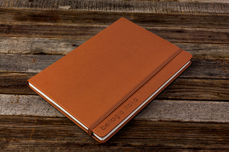 Premium Bound 50 Page Notebook- Brown